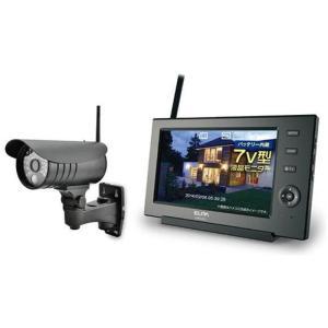 ELPA エルパ ワイヤレス防犯カメラ&モニターセット CMS-7110 gbft-online