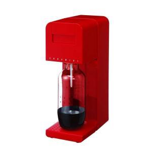 ソーダミニ Soda Mini ソーダミニII 炭酸メーカー スターターセット 新タイプ レッド SM1006|gbft-online
