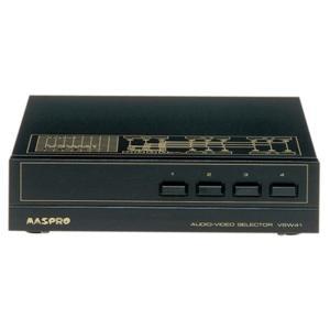 マスプロ MASPRO AVセレクター コンポジット 4入力・1出力 VSW41 gbft-online