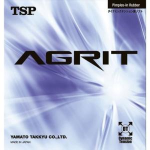 ティーエスピー TSP アグリット AGRIT 卓球 裏ソフト ラバー 中 レッド 20016-0040-C gbft-online