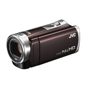 JVC ビデオカメラ ハイビジョンメモリームービー 32GB ダイナミック60倍 ブラウン GZ-E...