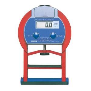 トーエイライト TOEI LIGHT デジタル握力計グリップD 平均値自動算出 日本製 5?100kg 0.1kg単位表示 T2177|gbft-online