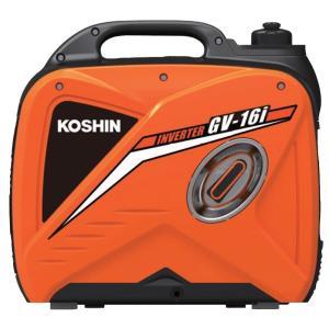 工進 KOSHIN インバーター発電機 定格出力1.6kVA GV-16i|gbft-online