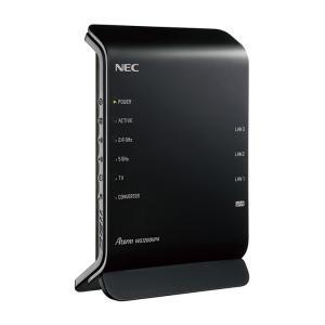 NEC 11ac対応 867+300Mbps 無線LANルータ Aterm WG1200HP4 PA-WG1200HP4|gbft-online