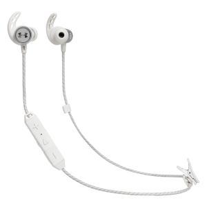 JBL UA SPORT WIRELESS REACT Bluetoothイヤホン アンダーアーマー ホワイト UAJBLREACTWHT gbft-online