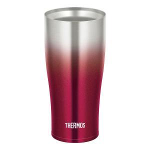 サーモス THERMOS 真空断熱タンブラー 420ml スパークリングレッド JDE-420C SP-R|gbft-online