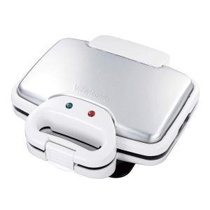 Vitantonio ビタントニオ ワッフル&ホットサンドベーカー 焼き型2種付き ホワイト VWH...
