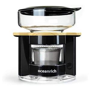 オーシャンリッチ Oceanrich コーヒーメーカー 自動ドリップ ブラック UQ-CR8200B...
