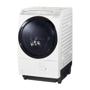 パナソニック Panasonic ななめドラム洗濯乾燥機 11kg 左開き クリスタルホワイト NA...