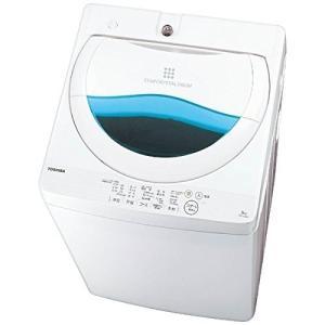 東芝 全自動洗濯機 5kg グランホワイト AW-5G5(W...