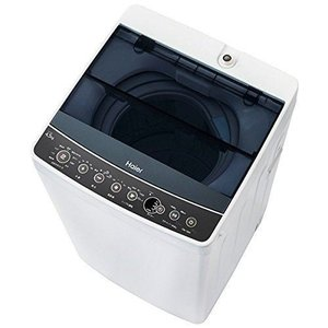 ハイアール  全自動洗濯機 4.5kg ブラック JW-C45A-K...