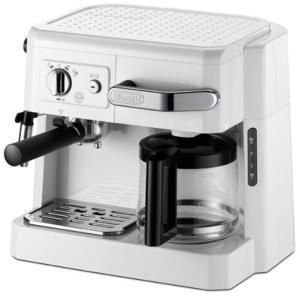 デロンギ DeLonghi コンビコーヒーメーカー ホワイト BCO410J-W