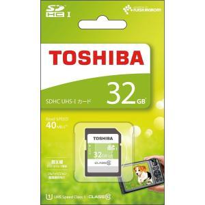 TOSHIBA SDHCカード 32GB Class10 UHS-I対応 SDAR40N32G