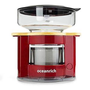 オーシャンリッチ Oceanrich コーヒーメーカー 自動ドリップ レッド UQ-CR8200RD