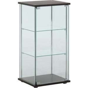 不二貿易 3段 ガラスコレクションケース 幅42.5cm 96049|GBFT Online PayPayモール店