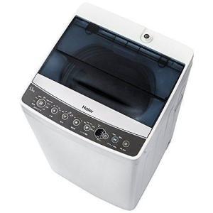 ハイアール 全自動洗濯機 5.5kg ブラック Haier JW-C55A-K...
