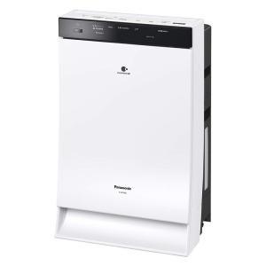 パナソニック Panasonic 加湿空気清浄機 ナノイーX エコナビ搭載 〜31畳 ホワイト F-...