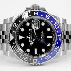 ROLEX ロレックス GMTマスター2 126710BLNR ランダム 黒青 新型 バットマン 5連ジュビリーブレスレット メンズ 時計 新品 未使用の画像