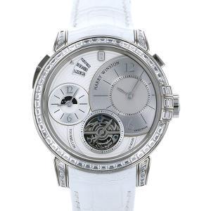 ハリー・ウィンストン ミッドナイト トゥールビヨン 世界限定5本 450/MATTZ45W ホワイト文字盤 メンズ 腕時計 新品 gc-yukizaki