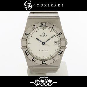 オメガ コンステレーション ホワイト文字盤 メンズ 腕時計 ...