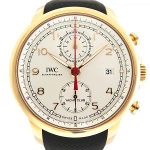 IWC ポルトギーゼ ヨットクラブ クロノグラフ  IW39...