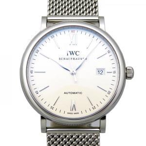 IWC ポートフィノ IW356505 シルバー文字盤 メン...