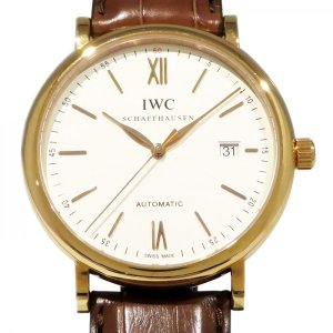 IWC ポートフィノ IW356504 シルバー文字盤 メン...