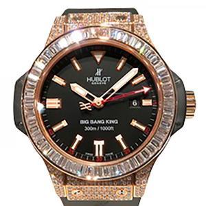 ウブロ ビッグバン キング 322.PX.1023.RX.094 ブラック文字盤 メンズ 腕時計 新品|gc-yukizaki