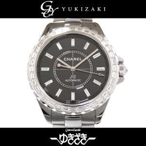シャネル J12 クロマティック H3155 ブラック文字盤 メンズ 腕時計 新品