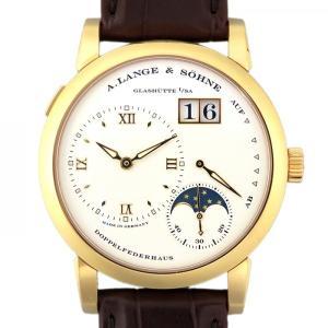 ランゲ&ゾーネ ランゲ1 ムーンフェイズ 109.032 シルバー文字盤 メンズ 腕時計 新品