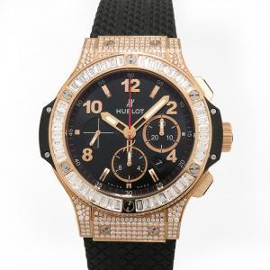 ウブロ ビッグバン ベゼルバケット・ケースダイヤ 301.PX.130.RX.094 ブラック文字盤 メンズ 腕時計 新品|gc-yukizaki