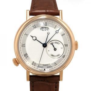 ブレゲ 5727BR/12/9ZU シルバー文字盤 メンズ 腕時計 新品