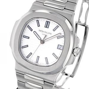 パテック フィリップ ノーチラス 5711/1A-011 ホワイト文字盤 メンズ 腕時計 中古...