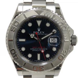 ロレックス ヨットマスター ロレジウム 116622 ブルー...