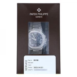 パテック・フィリップ ノーチラス 3800/1A-001 ブラック文字盤 メンズ 腕時計 中古 gc-yukizaki