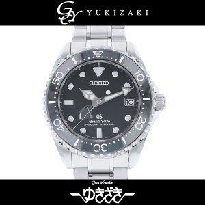 セイコー その他 グランドセイコー スプリングドライブ ダイバー SBGA029 ブラック文字盤 メンズ 腕時計 中古 gc-yukizaki
