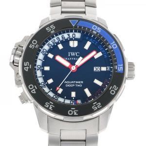 IWC アクアタイマー ディープツー IW354703 ブラ...