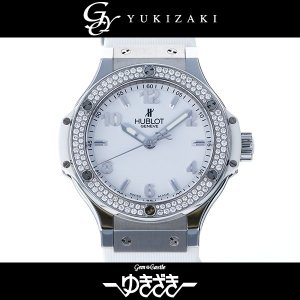 ウブロ ビッグバン サンモリッツ ベゼルダイヤ 361.SE.2010.RW.1104 ホワイト文字盤 メンズ 腕時計 中古|gc-yukizaki