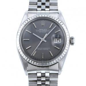 ロレックス デイトジャスト 1603 グレー文字盤 メンズ 腕時計 中古|gc-yukizaki
