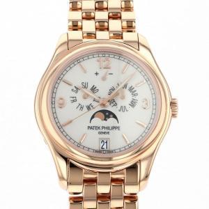パテック・フィリップ アニュアルカレンダー ムーンフェイズ 5416/1R-001 ホワイト文字盤 メンズ 腕時計 中古