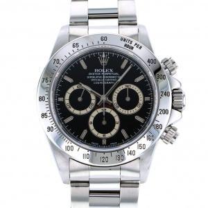 ロレックス デイトナ 16520 ブラック文字盤 メンズ 腕時計 中古|gc-yukizaki