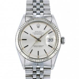 ロレックス ROLEX デイトジャスト 1601 シルバー文字盤 中古 腕時計 メンズ|gc-yukizaki