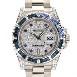 ロレックス ROLEX サブマリーナ 116659SABR 全面ダイヤ文字盤 新品 腕時計 メンズ|gc-yukizaki