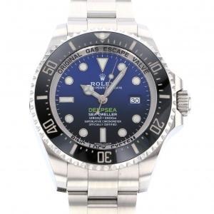 ロレックス シードゥエラー ディープシー Dブルー 116660 Dブルー文字盤 メンズ 腕時計 中...