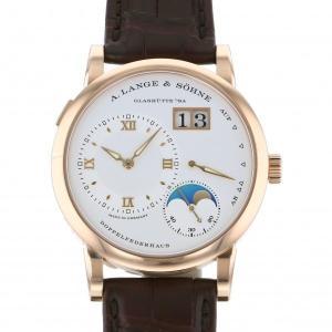 ランゲ&ゾーネ ランゲ1 ムーンフェイズ 192.032 シルバー文字盤 メンズ 腕時計 新品