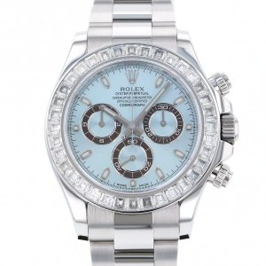 ロレックス デイトナ 116576TBR アイスブルー文字盤 メンズ 腕時計 中古|gc-yukizaki