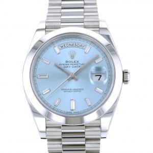 ロレックス デイデイト 40 228206A アイスブルー文字盤 メンズ 腕時計 未使用|gc-yukizaki