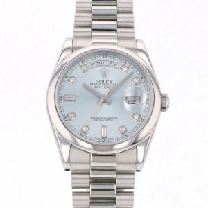 online retailer 60d6e c2ff5 ロレックスデイデイトアイスブルー(メンズ腕時計)の商品一覧 ...