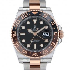 ロレックス ROLEX GMTマスター II 126711CHNR ブラック文字盤 新品 腕時計 メンズ|gc-yukizaki