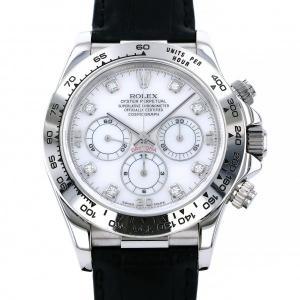 ロレックス ROLEX デイトナ 16519NG ホワイト文字盤 中古 腕時計 メンズ|gc-yukizaki